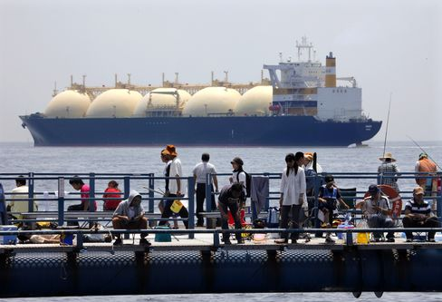 Japan Says in Talks to Start Importing LNG From U.S.