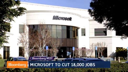 Why Microsoft Is Cutting 18,000 Jobs