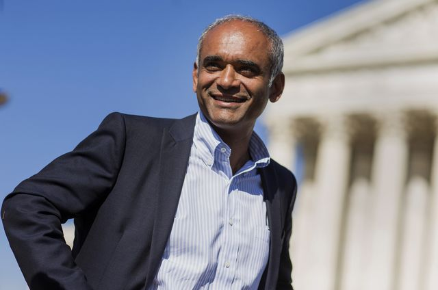 Chet Kanojia, chief executive officer ofAereo, wants to interrupt your regularly scheduled programming.Photographer: Joshua Roberts/Bloomberg