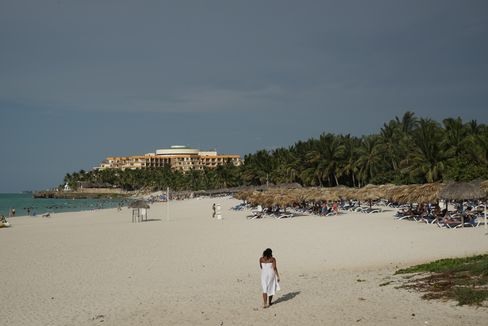 The beach in Varadero stretches 20 kilometers.