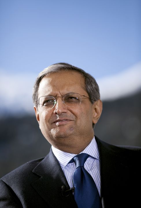 Vikram Pandit, chief executive officer of Citigroup Inc. Photographer: Simon Dawson/Bloomberg