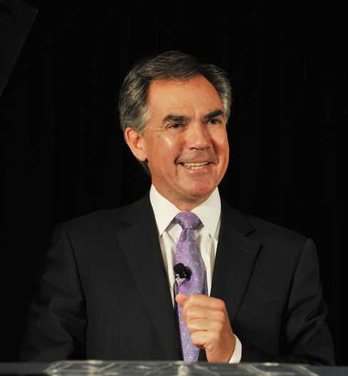 Canadian Imperial Bank of Commerce Vice chairman Jim Prentice
