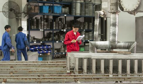 Chinese Industrial Companies' Profits Drop for Second Month