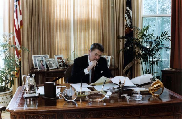 A lot has changed sinceRonald Reagan was in the Oval Office.