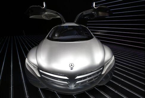 Daimler's Mercedes-Benz automobile