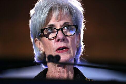 U.S. Health Secretary Kathleen Sebelius