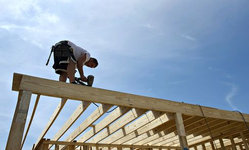 Housing Starts in U.S. Probably Climbed to Almost Four-Year High