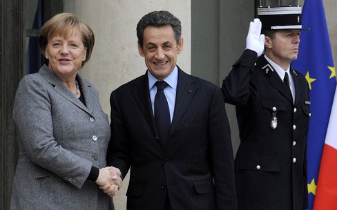 Merkel, Sarkozy Propose Separate Account for Greece