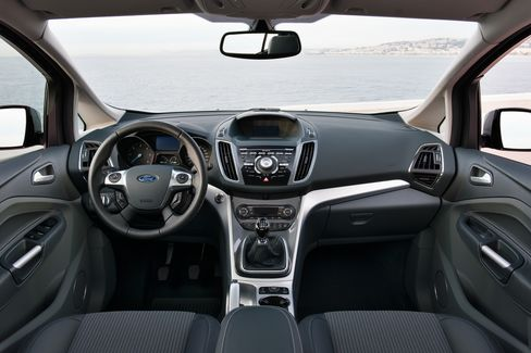 The New Ford Motor Co. C-Max Interior