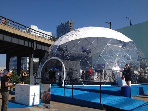 High Line Snow Globe