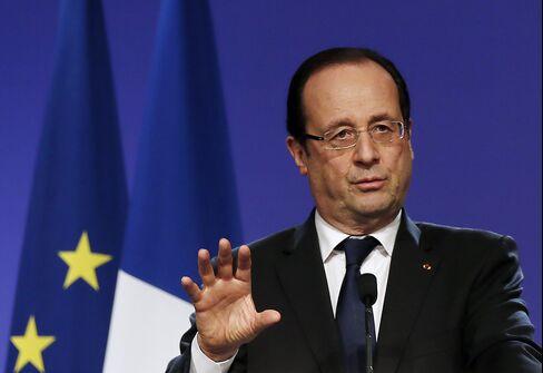 Hollande No Schroeder Amid Incremental French Labor Revamp