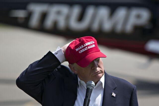 Donald Trump. Stephen Harper:-) - Magazine cover