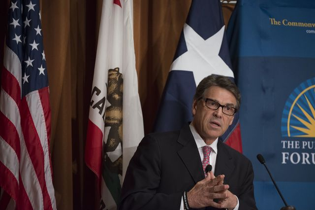 Rick Perry is OK with the Export-Import Bank.