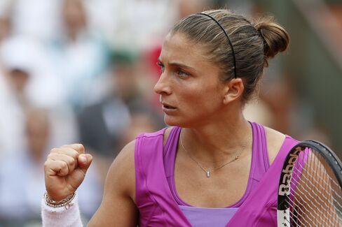 Italy's Sara Errani