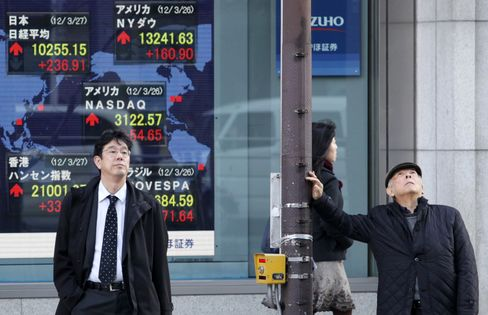Most Asian Stocks Fall Before Hong Kong Open as Yen Drags Japan