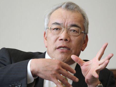Japan Steel Works Ltd. President Ikuo Sato