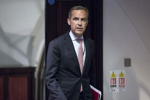 Carney Seen Echoing Fed in Tying BOE Guidance to Data