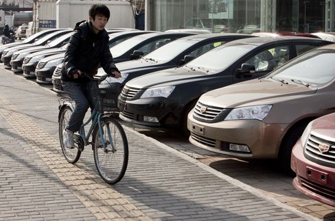 China 2011 Car Sales May Grow Slower