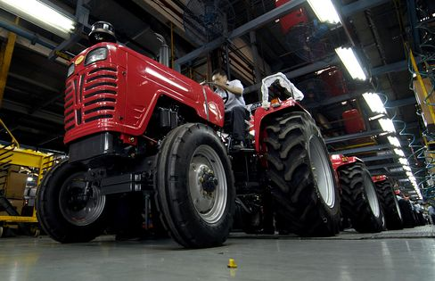 Tractor Sales Forecast Cut as Sowing Area Drops
