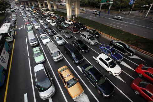 Shanghai Roads Show Why More Curbs Mean Fewer Local Brands
