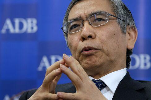 Asian Development Bank President Haruhiko Kuroda