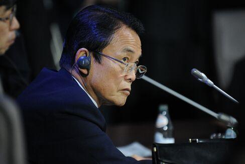 Taro Aso, Finance Minister of Japa