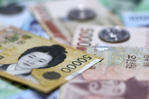 Won Debt Held by Foreigners Monitored for Volatility, Shin Says