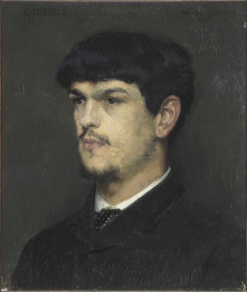 ``Portrait of Claude Debussy''