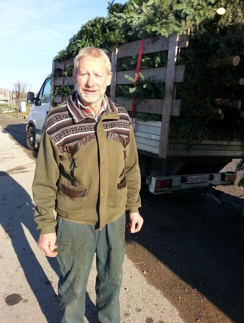 Christmas Tree Farmer Alfred Spaltenstein