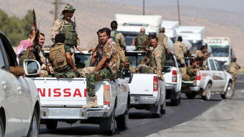 Peshmerga Fighters in Iraq