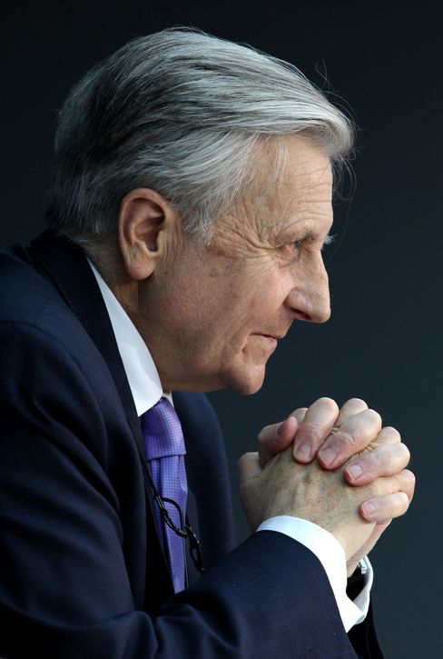 Jean-Claude Trichet, president of the ECB