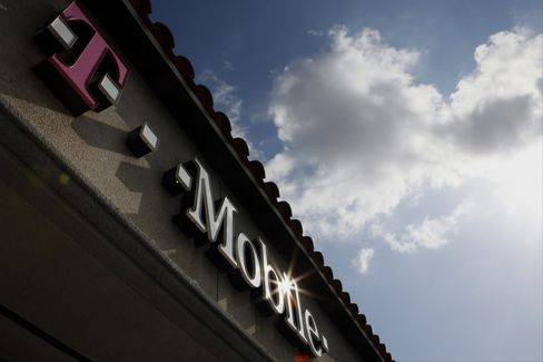 T-Mobile US Inc. Signage Outside a Retail Store