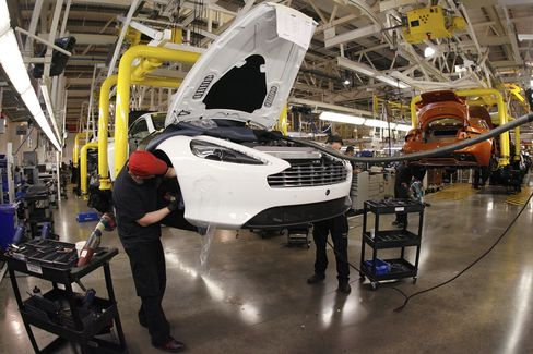 Aston Martin Squeezes Profit From Technology