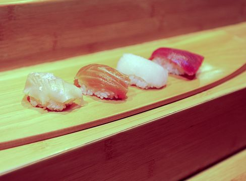 Sushi Is Served In New York