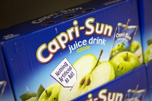 Wild Flavors' Capri Sun drinks