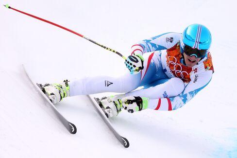 Skier Matthias Mayer of Austria
