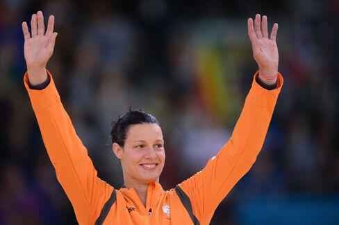 Dutch Judo Champion Edith Bosch