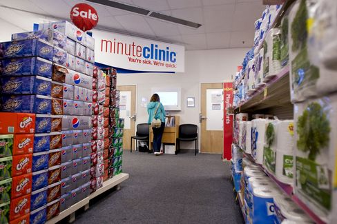 Wal-Mart Medical Clinics Trail CVS Generating 39% Growth