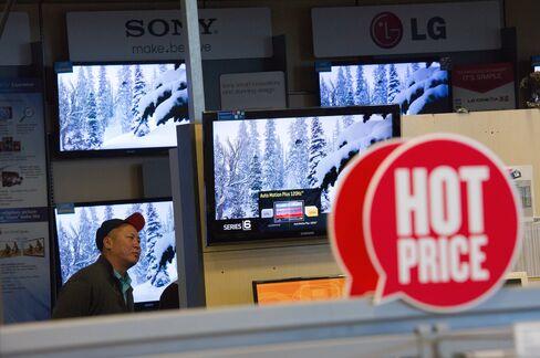 Consumer Stocks May Lag as U.S. Restaurant Sales Slow