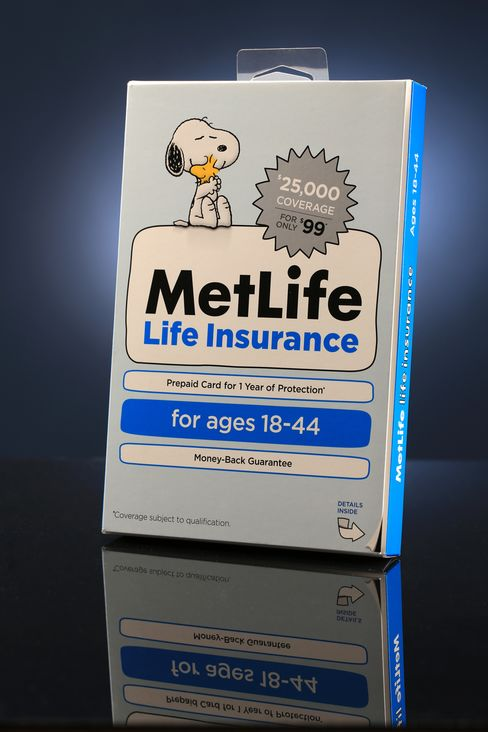 MetLife Sells Insurance in Box at Wal-Mart in Retail Push
