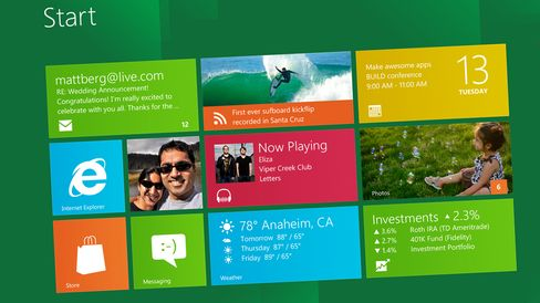 Microsoft's Windows Bolsters Sales in Challenging PC Environment
