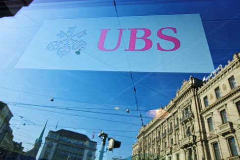 UBS Aims for Top-5 Ranking on U.S. Deals