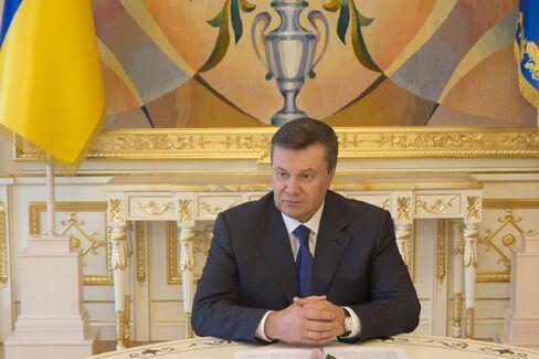 Ukranian President Viktor Yanukovych
