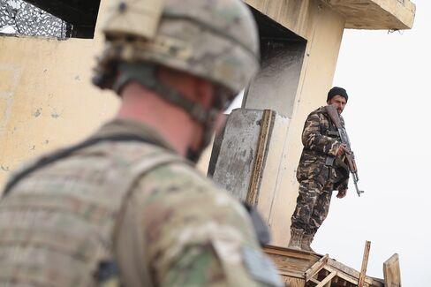 Afghan & U.S. Soldiers