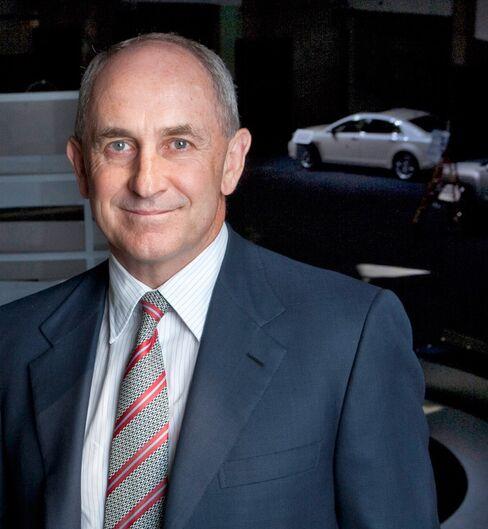 General Motors Vice Chairman and CFO Chris Liddell