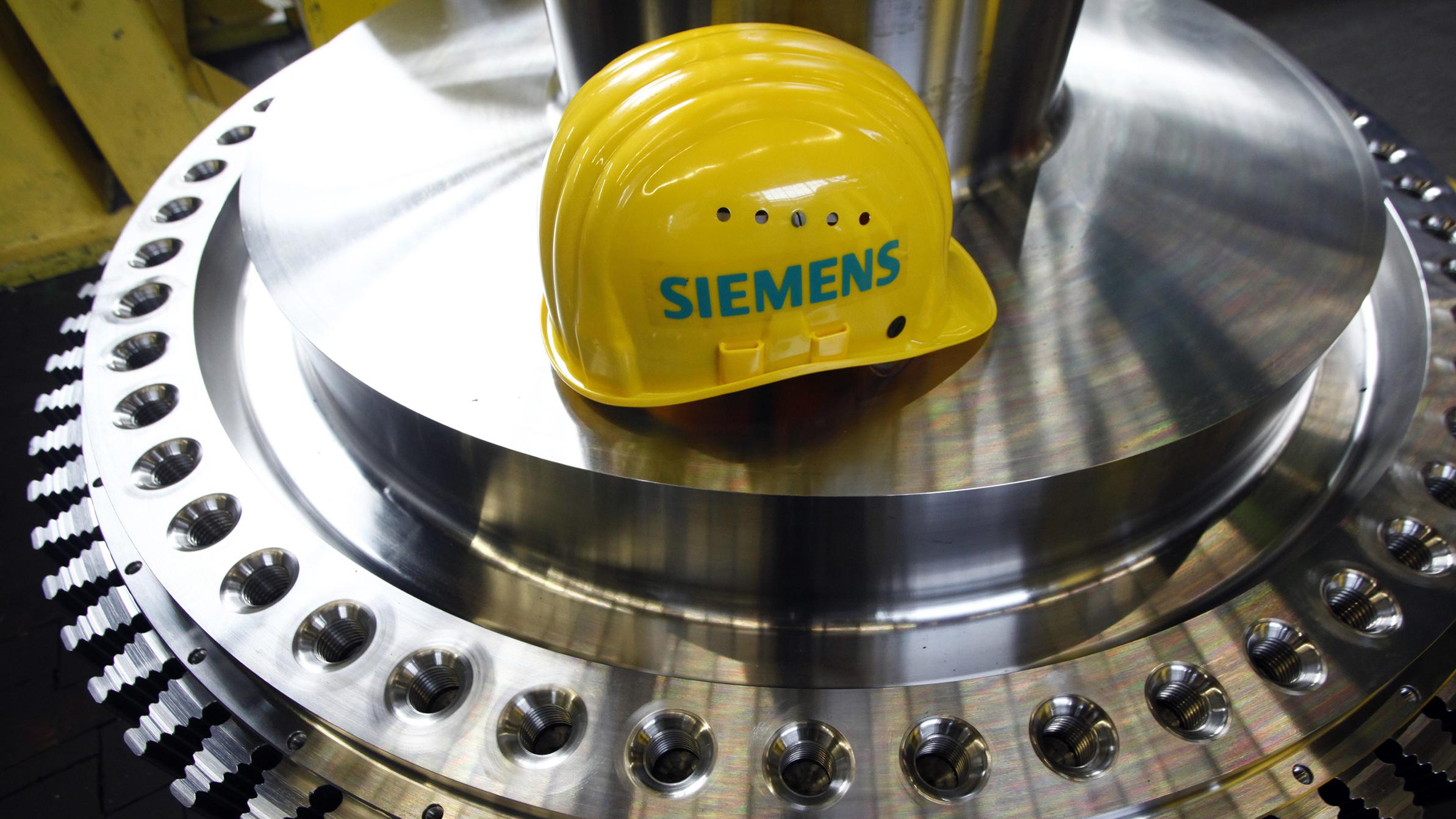 Inside Siemens Turbine Factory As German Economy Improves