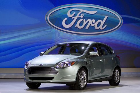 Ford Takes on First Electric Car