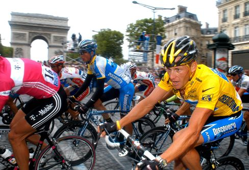 Armstrong Led the Way in Trying to Get a Piece of the Tour