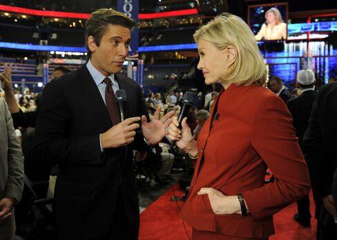 News Anchors David Muir & Diane Sawyer