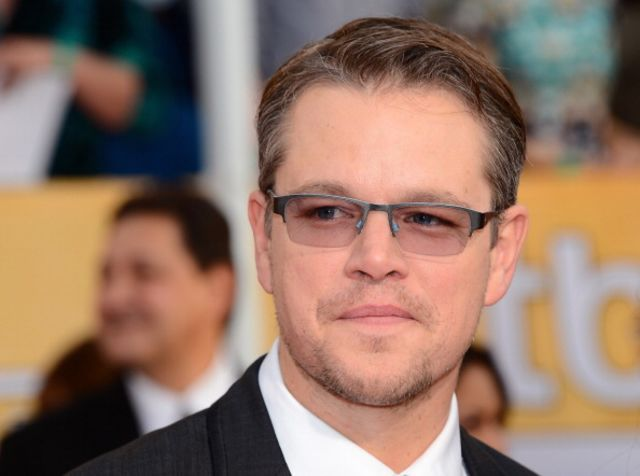Matt Damon is a movie star -- and a liberal. Photographer: Ethan Miller/Getty Images
